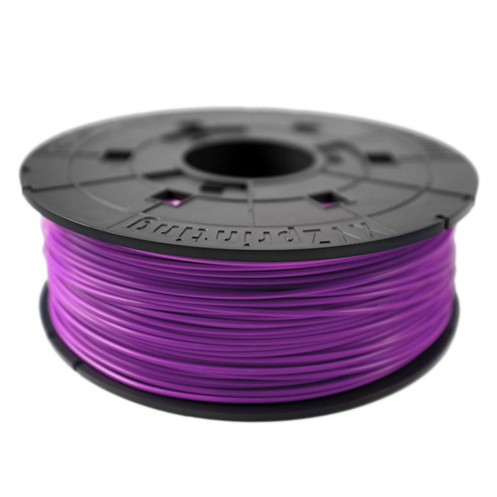 XYZ пластик ABS в катушке, Purpure 1,75 ммRF10XXEU06GПластик ABS от XYZ Printing долговечный и очень прочный полимер, ударопрочный, эластичный и стойкий к моющим средствам и щелочам. Один из лучших материалов для печати на 3D принтере. Пластик ABS не имеет запаха и не является токсичным. Температура плавления215-250°C. АБС пластик для 3D-принтера применяется в деталях автомобилей, канцелярских изделиях, корпусах бытовой техники, мебели, сантехники, а также в производстве игрушек, сувениров, спортивного инвентаря, деталей оружия, медицинского оборудования и прочего.
