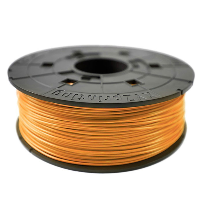 XYZ пластик ABS в катушке, Tangerine 1,75 ммRF10XXEU08CПластик ABS от XYZ Printing долговечный и очень прочный полимер, ударопрочный, эластичный и стойкий к моющим средствам и щелочам. Один из лучших материалов для печати на 3D принтере. Пластик ABS не имеет запаха и не является токсичным. Температура плавления215-250°C. АБС пластик для 3D-принтера применяется в деталях автомобилей, канцелярских изделиях, корпусах бытовой техники, мебели, сантехники, а также в производстве игрушек, сувениров, спортивного инвентаря, деталей оружия, медицинского оборудования и прочего.