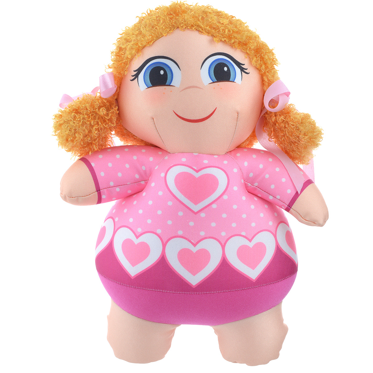 Игрушка-антистресс СмолТойс Кукла Анюта, 30 см антистрессовые игрушки в уфе