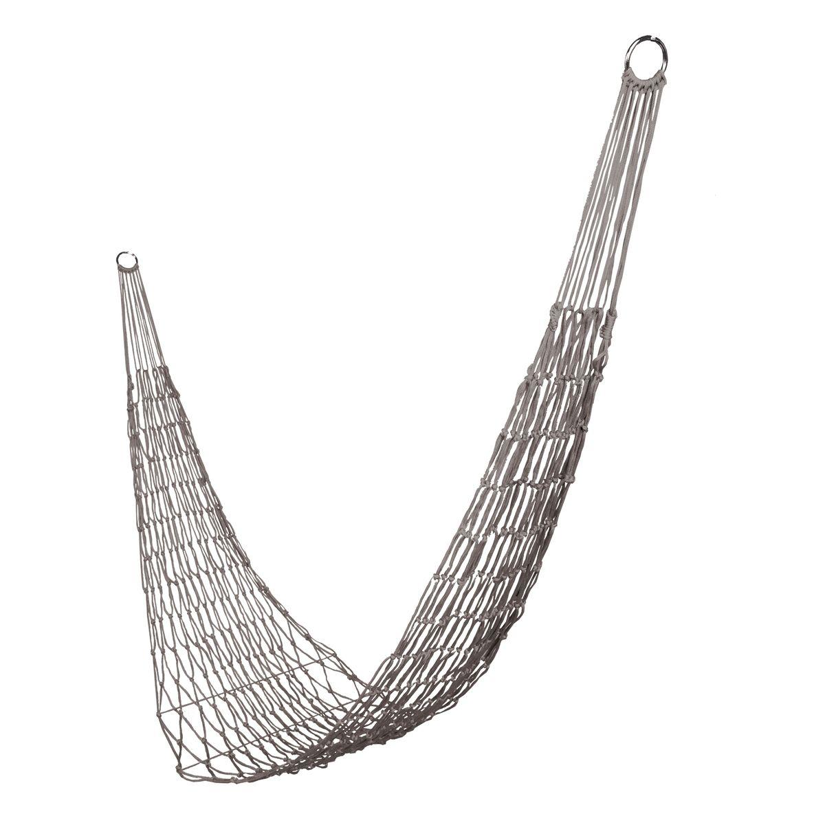 Гамак-сетка Boyscout Походный, цвет: серый, 200 х 80 см61074Легкий, прочный и компактный гамак Boyscout Походный выполнен из высококачественного нейлона в виде сетки. Гамак предназначен для комфортного отдыха на даче, пикнике или походе. Крепится изделие к двум опорам (деревьям или стойкам). Использование гамака в домашних условиях предполагает крепление на завинчивающие винты.Такой гамак внесет дополнительный комфорт в ваш отдых.