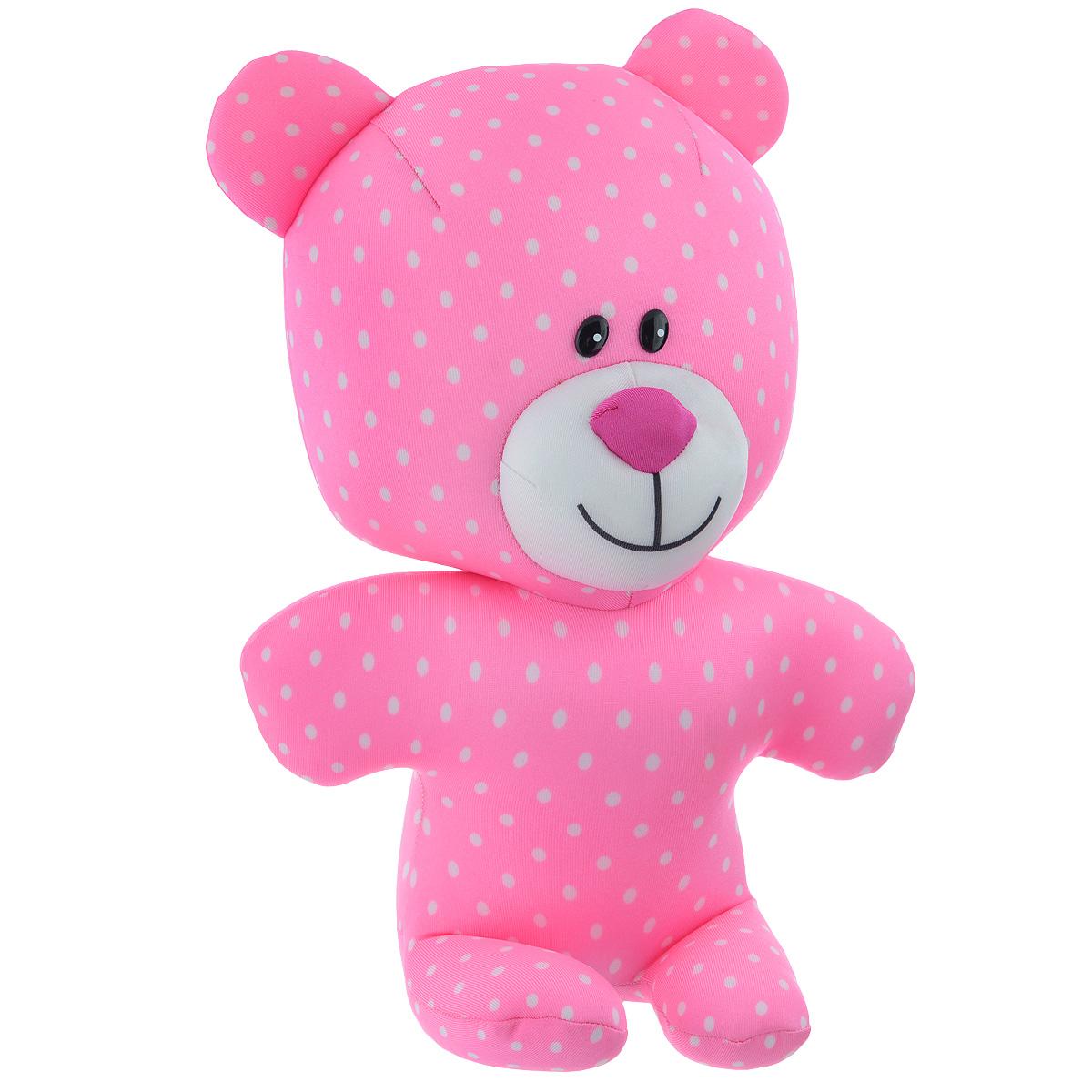 Игрушка-антистресс СмолТойс Мишутка, 36 см игрушка антистресс смолтойс кукла анюта 30 см