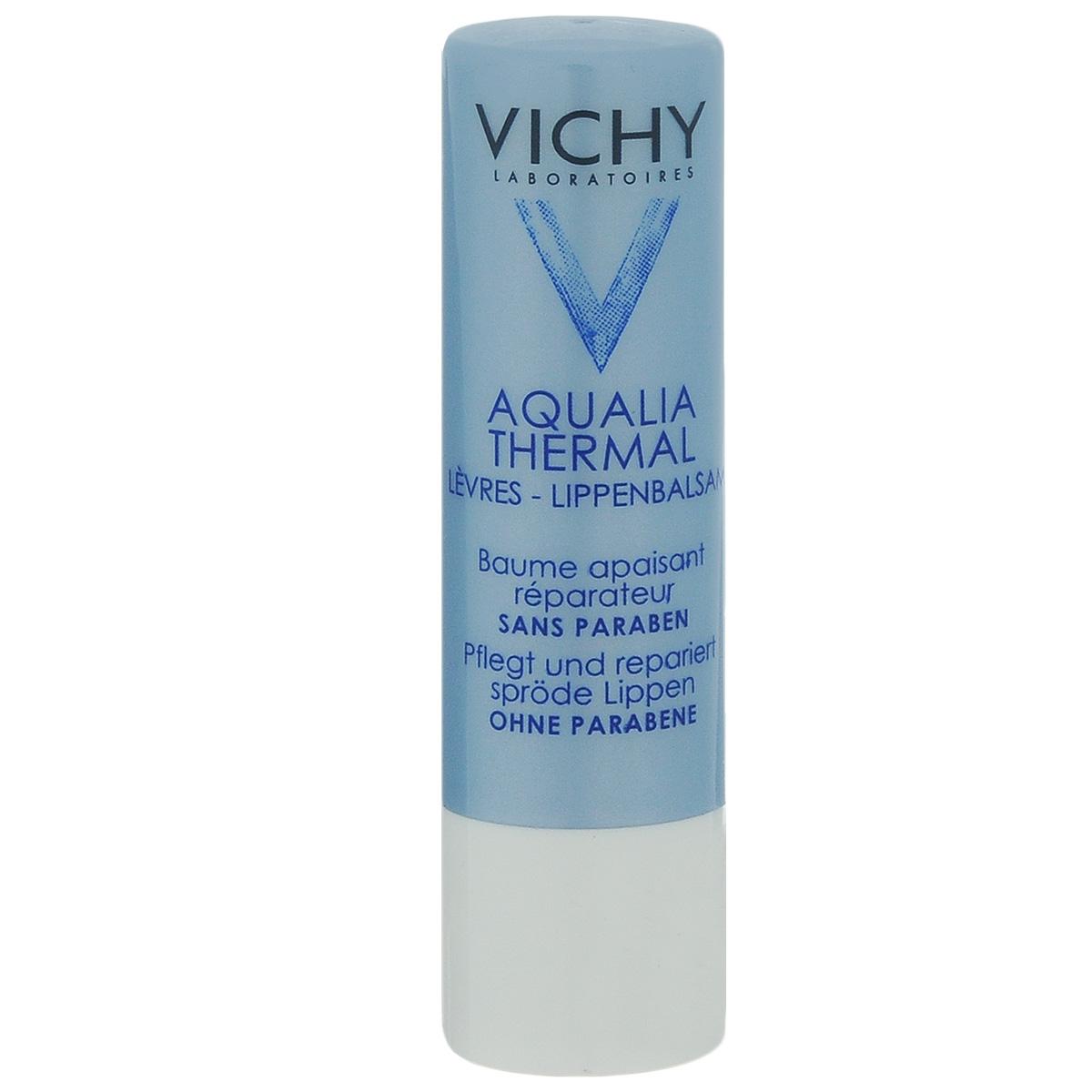 Vichy Aqualia Thermal Увлажняющий и восстанавливающий бальзам для губ Aqualia Thermal, 5 млM0510000Ультразащитная формула длительного действия позволяет бережно и деликатно ухаживать за сухой, потрескавшейся кожей губ. Губы отлично увлажнены, они становятся нежными и мягкими.