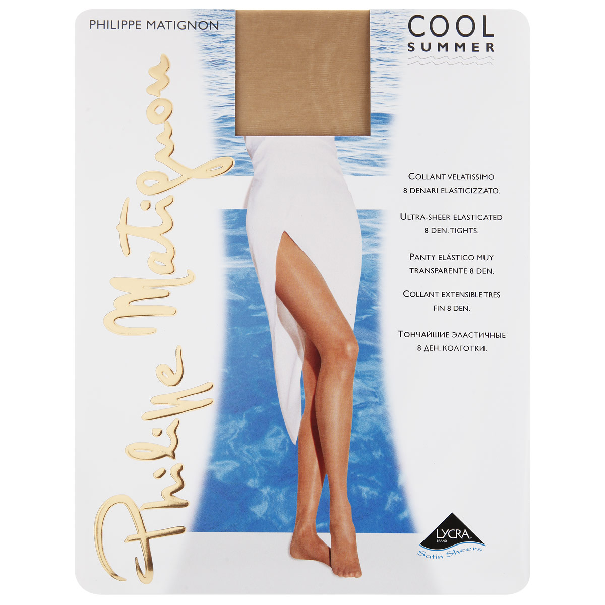 Колготки Philippe Matignon Cool Summer 8. Playa Nature (бежевый). Размер 4-L mcd200 16io1 [west] quality goods page 5