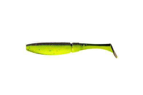 Приманка съедобная Риппер Allvega Power Swim, цвет: салатовый, черный, 8,5 см, 5,5 г, 5 шт51066Риппер Allvega Power Swim - это виброхвост с объемным, мясистым телом. Имеет стабильную сбалансированную игру. Приманки малых размеров подойдут для микроджига, средние можно использовать с классическими джиг-головками, на крупные размеры можно, не огружая, ловить с офсетником по траве. На теле виброхвоста предусмотрены специальные канавки для использования Power Swim в монтажах с офсетным крючком. Дополнительную привлекательность приманке придает использование в составе активной био-добавки, соли и специального ароматизатора.Вес: 5,5 г.Длина: 8,5 см.Какая приманка для спиннинга лучше. Статья OZON Гид