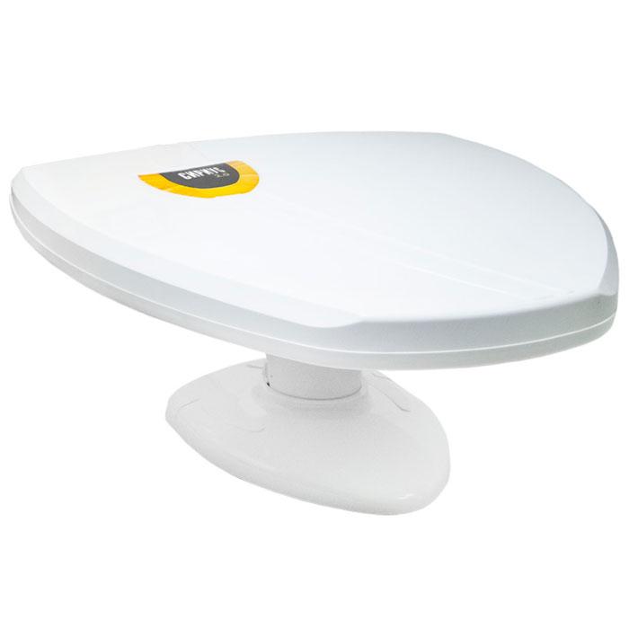РЭМО Фобос 2.1, White комнатная антенна для ТВFobos 2.1Комнатная антенна РЭМО Фобос 2.1 предназначена для приема телевизионных программ в диапазоне 21-69 каналов в аналоговом и цифровом (DVB-T и DVB-T2) форматах вещания. Антенна основана на классической логопериодической структуре для каналов ДМВ, оснащена современным малошумящим усилителем и обеспечивает качественное изображение в зоне устойчивого приема телевидения.Корпус Фобос 2.1 изготовлен из современных высокотехнологичных материалов, обладающих высокой прочностью и безопасностью при эксплуатации. Антенна имеет современный элегантный вид, при ее разработке были учтены реалии сегодняшнего дня - например высота основной плоскости выбрана так, чтобы при установке на подоконник она не экранировалась металлическим профилем усиления пластиковых окон. Антенна оптимизирована для приема цифрового вещания в форматах DVB-T и DVB-T2 в диапазоне ДМВ, но и в регионах где такого вещания еще нет, телезрители смогут смотреть все имеющиеся в эфире каналы аналогового вещания.