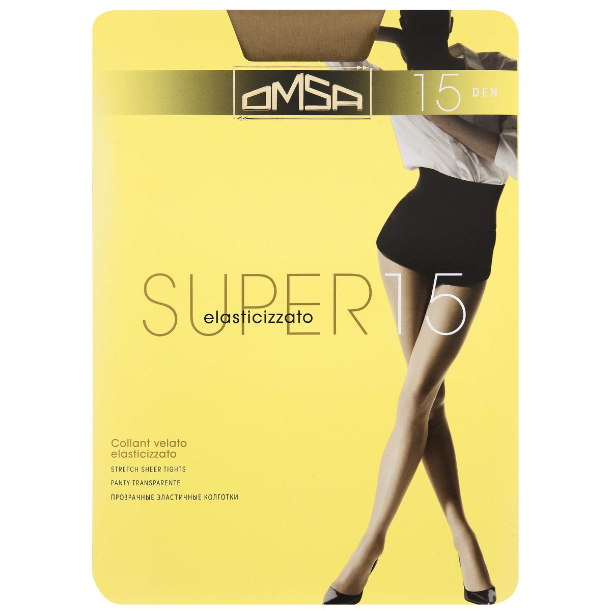 Колготки Omsa Super 15. Caramello (бледно-коричневый). Размер 3-M106 Super 15Практичные и легкие эластичные колготки Omsa с верхней частью в виде штанишек. Уплотненный носок.Плотность: 15 Den. Omsa - одна из наиболее важных компаний, производящих трикотаж, которая так близка любой женщине. А устойчивым положением компания обязана своей философии, которая была и остается для нее актуальной. Высокое качество нити, элегантность, внимание к шарму и моде позволяет держаться компании на вершине популярности у женщин всего мира. Внимание к нуждам женщины и постоянная забота о качестве сделали Omsa самой значительной компанией Европы. Благодаря усовершенствованиям в производственной сфере вся продукция Omsa может гордиться своим превосходным качеством.