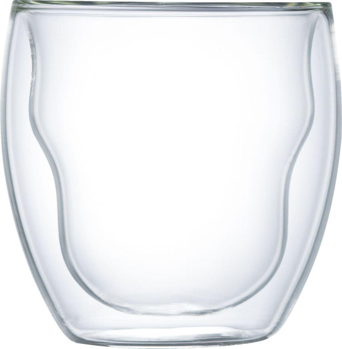 Набор термобокалов Walmer Prince, 250 мл, 2 штW02001025Набор Walmer Prince состоит из двух термобокалов, изготовленных из высококачественного жаропрочного стекла и оснащенных двойными стенками. Прослойка воздуха оставляет напитки долгое время горячими. Внешняя поверхность бокалов сохраняет при этом комнатную температуру.Можно мыть в посудомоечной машине и использовать в микроволновой печи.Диаметр (по верхнему краю): 8 см.Высота: 9 см.