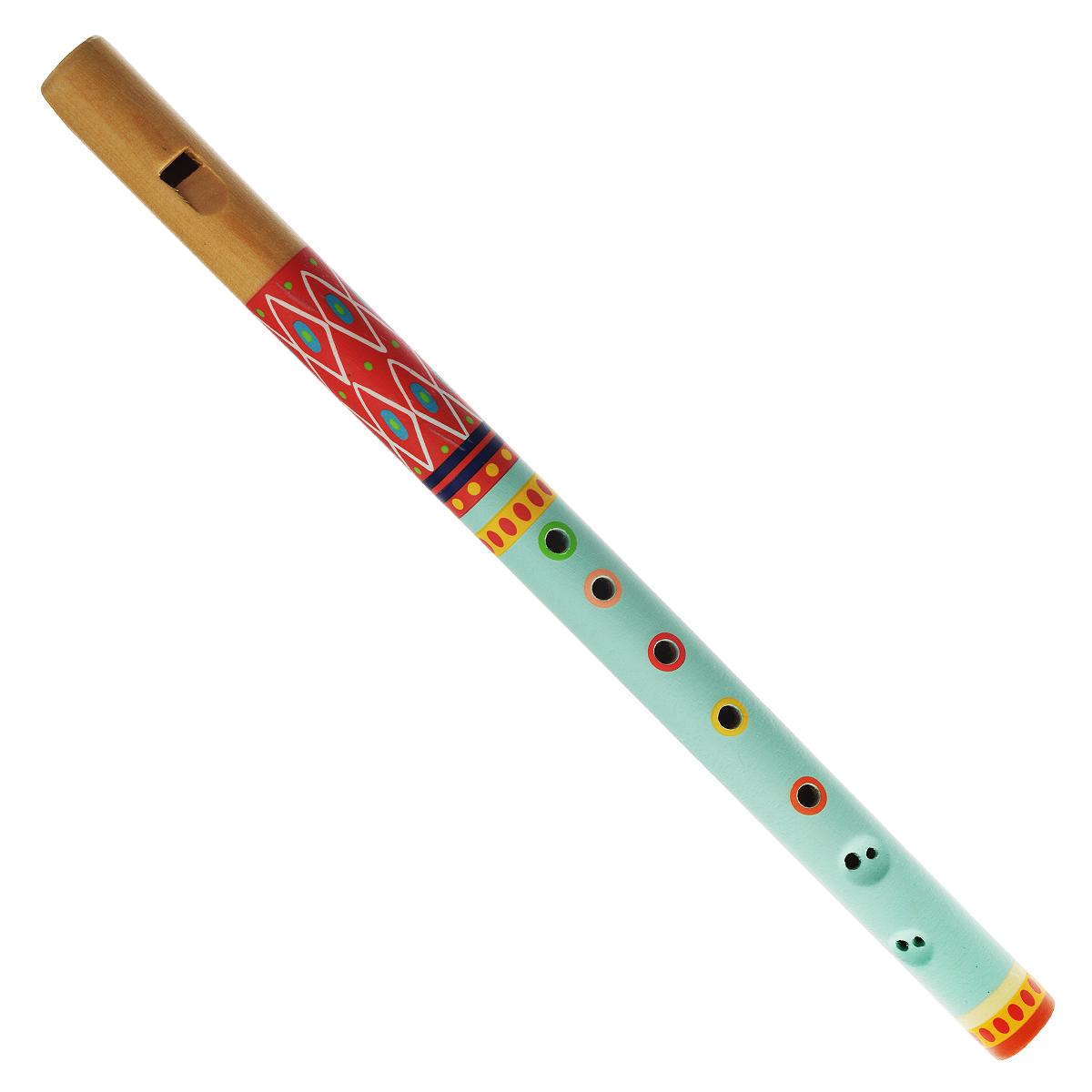 Djeco Флейта  Animambo , цвет: бирюзовый, красный - Музыкальные инструменты