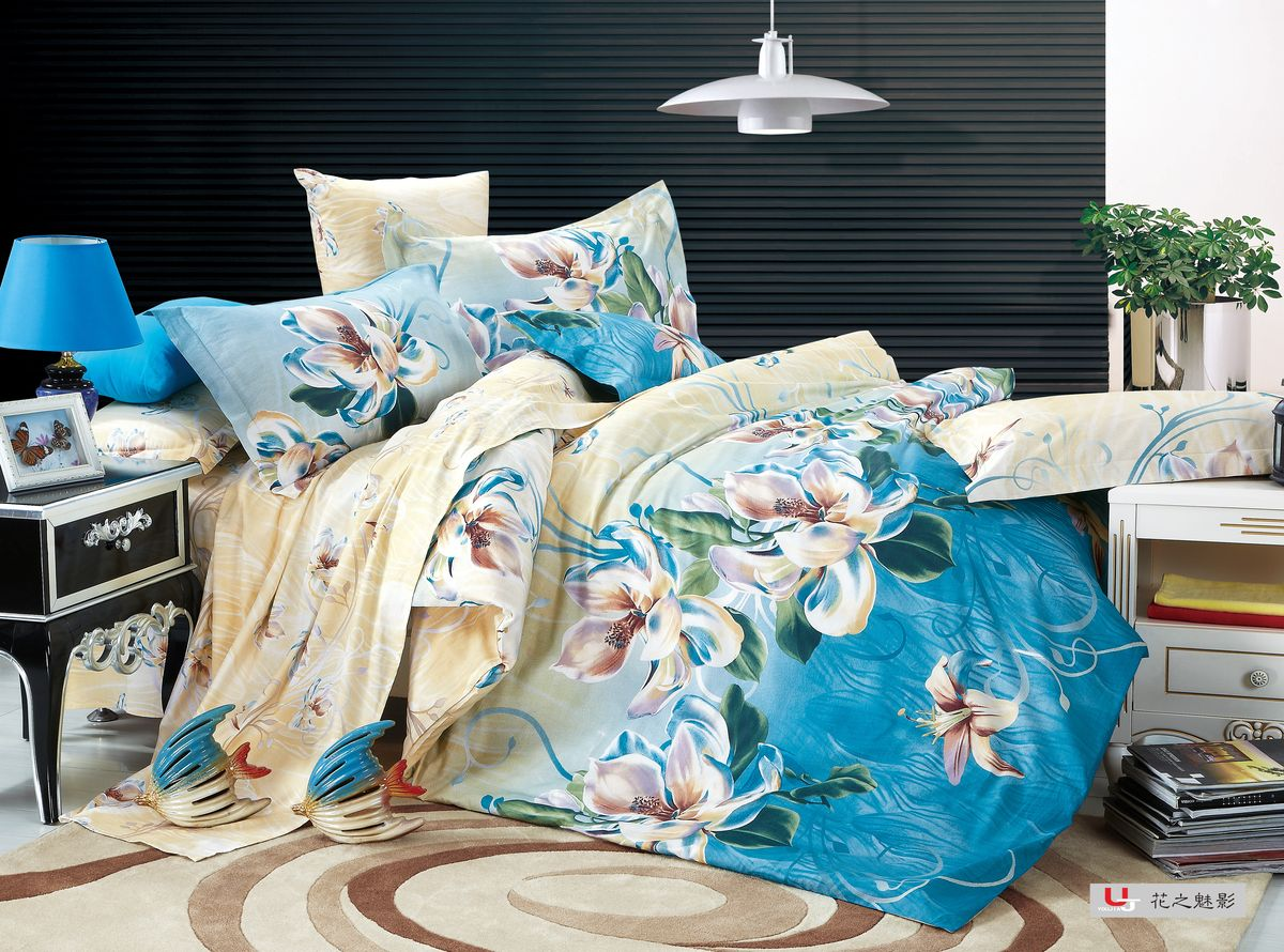 Комплект белья Amore Mio ZHG Taina, 2-спальное. 6804368043Amore Mio – Комфорт и Уют - Каждый день! Amore Mio предлагает оценить соотношению цены и качества коллекции.Разнообразие ярких и современных дизайнов прослужат не один год и всегда будут радовать Вас и Ваших близких сочностью красок и красивым рисунком. Что такое Satin/Сатин.-это ткань сатинового (атласного) переплетения нитей. Имеет гладкую, шелковистую лицевую поверхность, на которой преобладают уточные нити (уток – горизонтально расположенные в тканом полотне нити). Сатин изготавливается из крученой хлопковой нити двойного плетения. Он чрезвычайно приятен на ощупь, не электризуется и не скользит по кровати. Сатин прекрасно сохраняет форму и не мнется, отлично пропускает воздух, что позволяет телу дышать и дарит здоровый и комфортный сон. Пододеяльник-180*215, Простыня-200*225, наволочки-70*70(2шт)