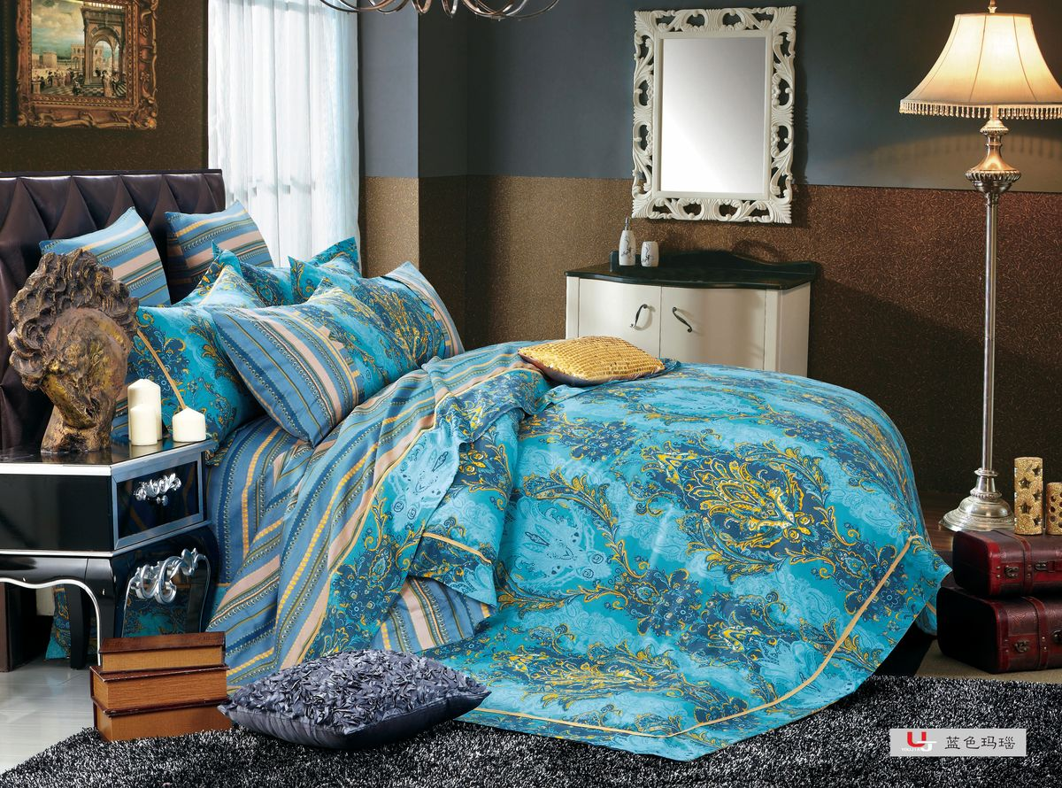 Комплект белья Amore Mio ZHG Akkord, 1,5-спальное. 6964369643Amore Mio – Комфорт и Уют - Каждый день! Amore Mio предлагает оценить соотношению цены и качества коллекции.Разнообразие ярких и современных дизайнов прослужат не один год и всегда будут радовать Вас и Ваших близких сочностью красок и красивым рисунком. Что такое Satin/Сатин.-это ткань сатинового (атласного) переплетения нитей. Имеет гладкую, шелковистую лицевую поверхность, на которой преобладают уточные нити (уток – горизонтально расположенные в тканом полотне нити). Сатин изготавливается из крученой хлопковой нити двойного плетения. Он чрезвычайно приятен на ощупь, не электризуется и не скользит по кровати. Сатин прекрасно сохраняет форму и не мнется, отлично пропускает воздух, что позволяет телу дышать и дарит здоровый и комфортный сон. Пододеяльник-140*215, Простыня-140*225, наволочки-70*70(2шт)