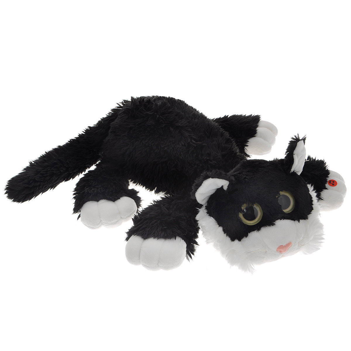 Мягкая игрушка Gulliver Котик Шалунишка, озвученная, 45 см игрушка collecta котик шалунишка 18 3001 1