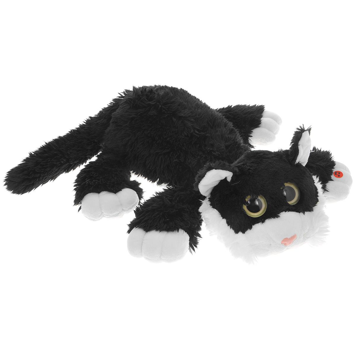 Мягкая игрушка Gulliver Котик Шалунишка цвет черный 22 см игрушка collecta котик шалунишка 18 3001 1