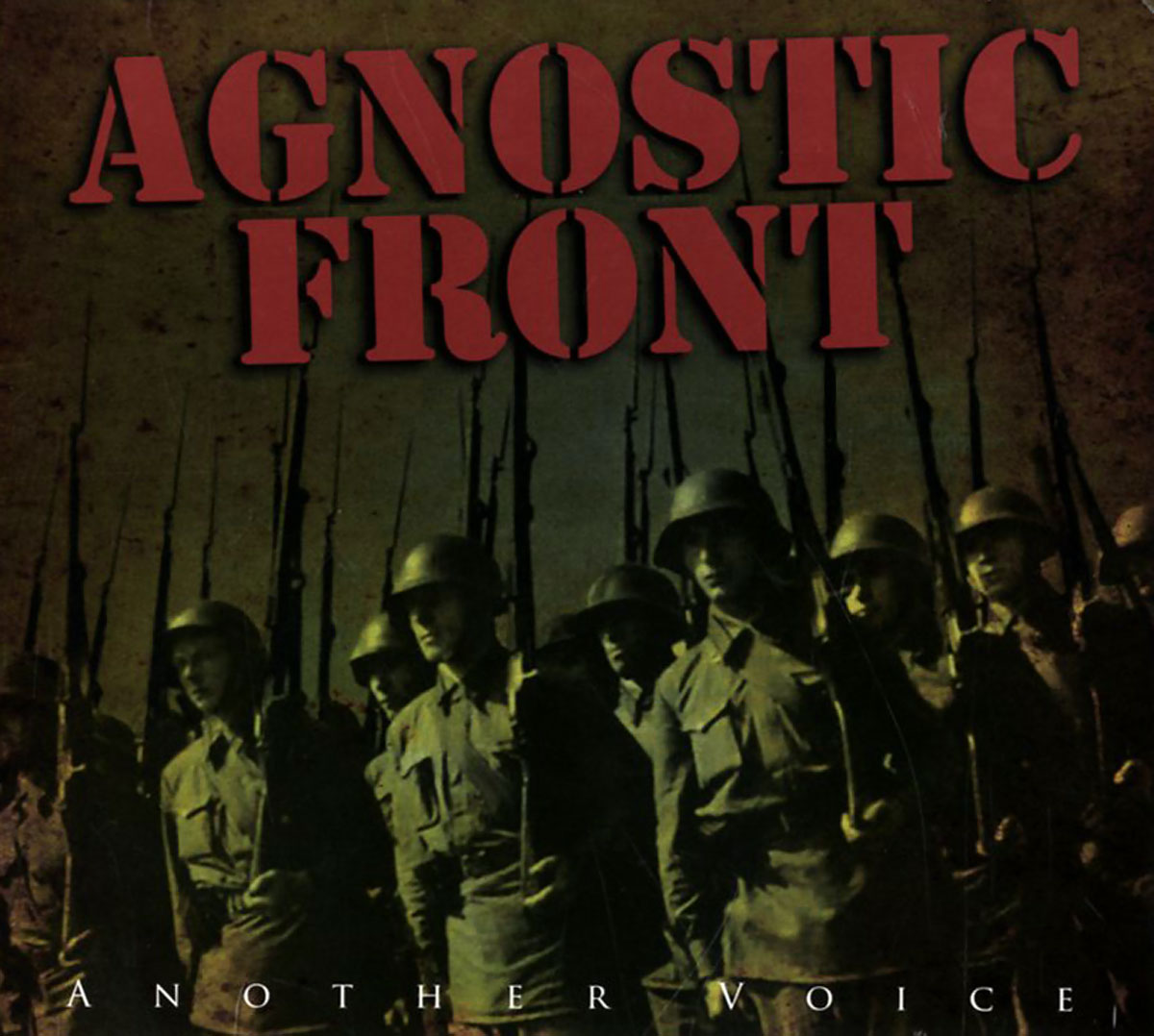 Agnostic Front Agnostic Front. Another Voice herobiker sintered copper metal front