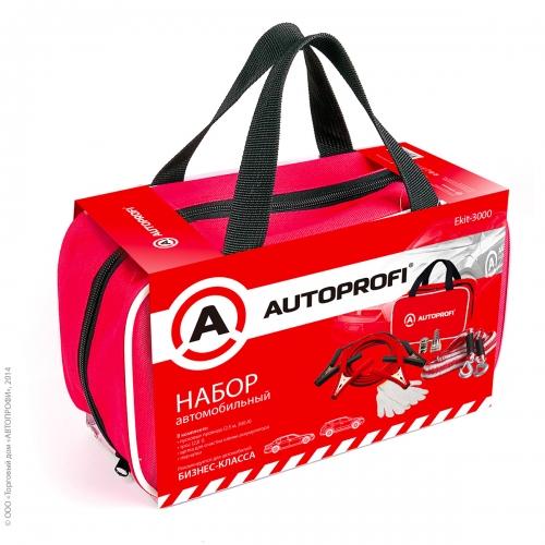 Набор автомобильный Autoprofi Ekit-3000 автомобильный аккумулятор в дрогичине