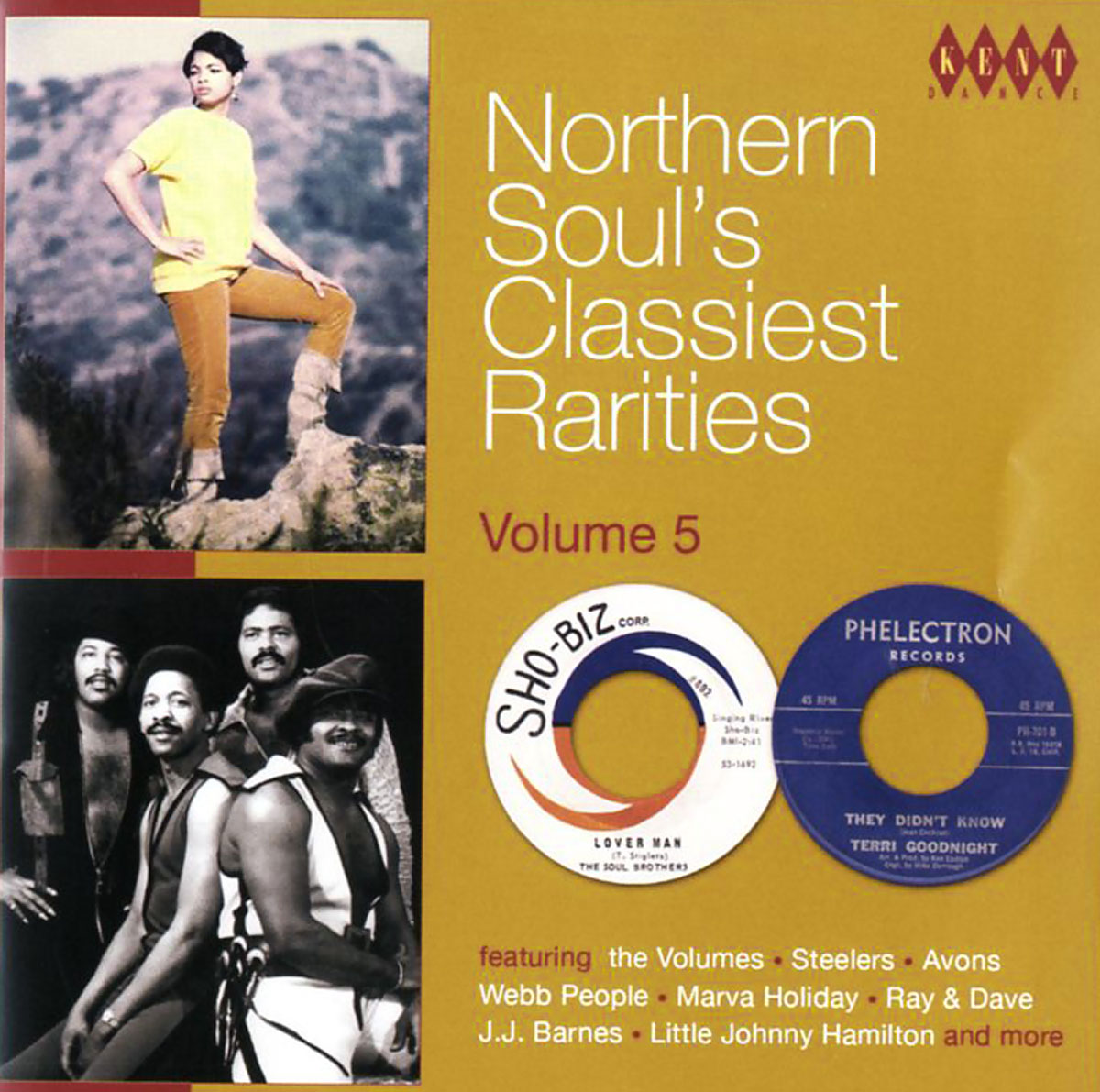 The Volumes,Marva Holiday,The Steelers,Клиффорд Карри,Mouse,The Traps,J. J. Barnes,The Soul Brothers,Мел Дэвис,Дэвид Пиплс Northern Soul's Classiest Rarities. Volume 5 northern lights the graphic novel volume 1