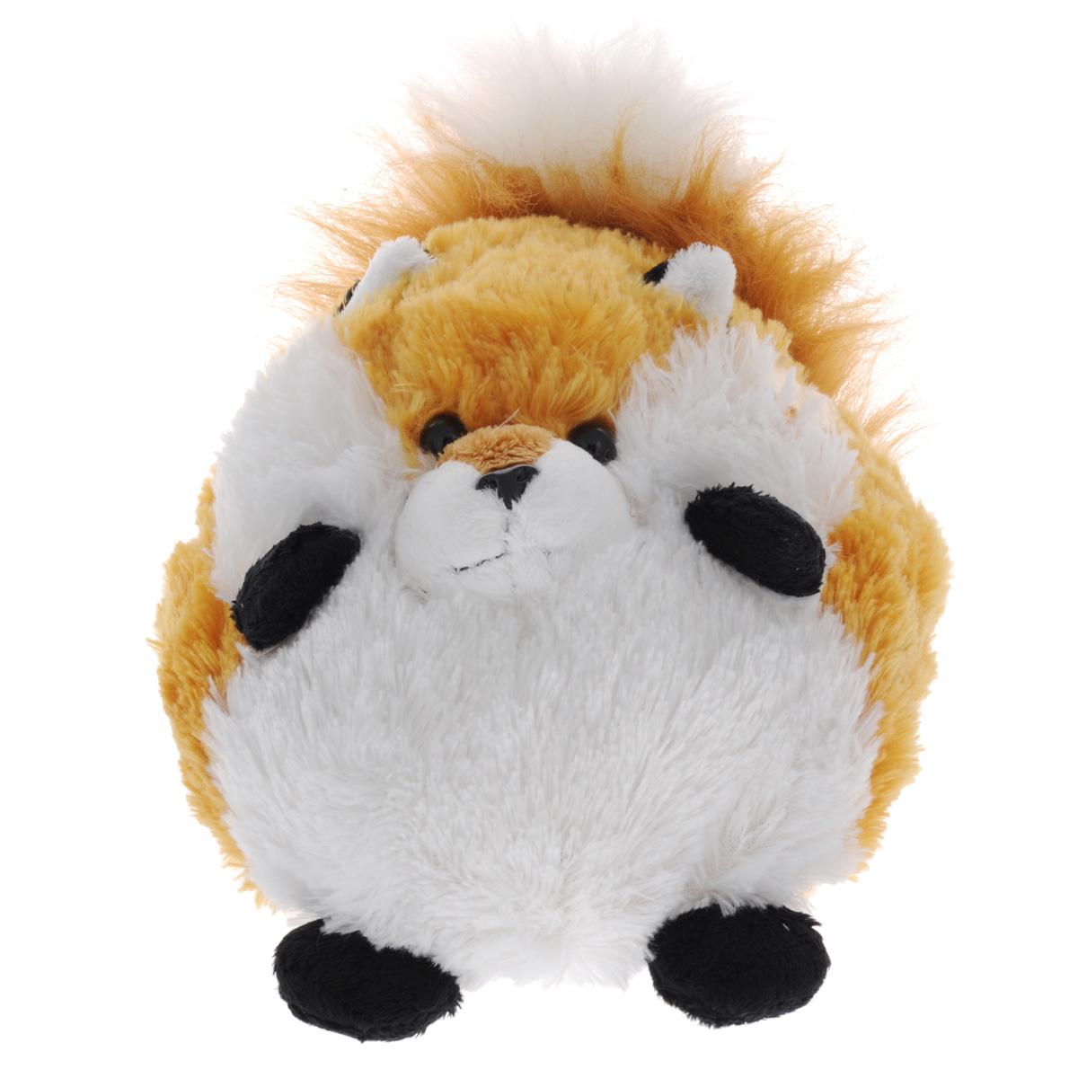 Мягкая игрушка Gulliver Пушистый хвостик: лисичка, 20 см игрушка мягкая gulliver пушистый хвостик белочка 30см