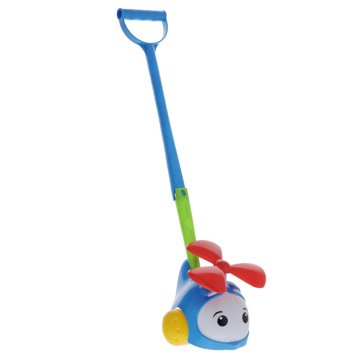 "Игрушка-каталка ""Вертолетик"", цвет: синий, Stellar"