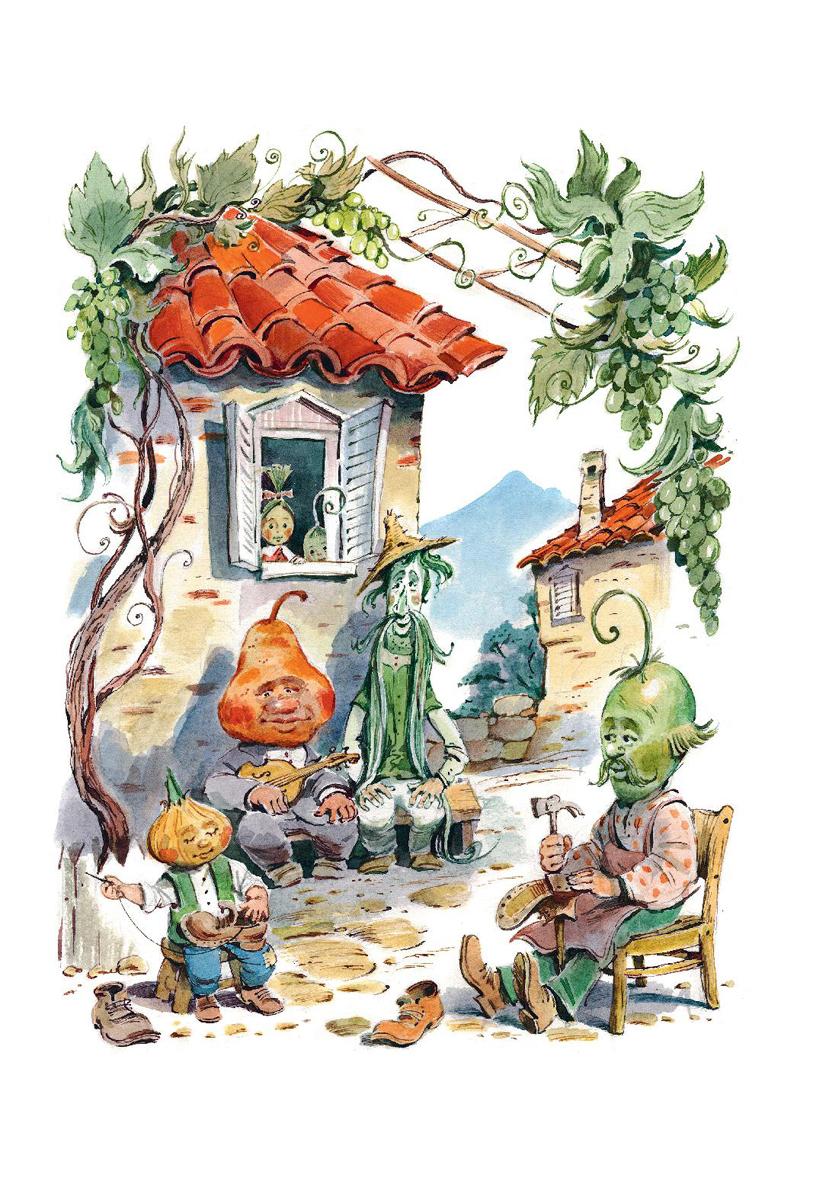 Картинки к сказкам итальянский