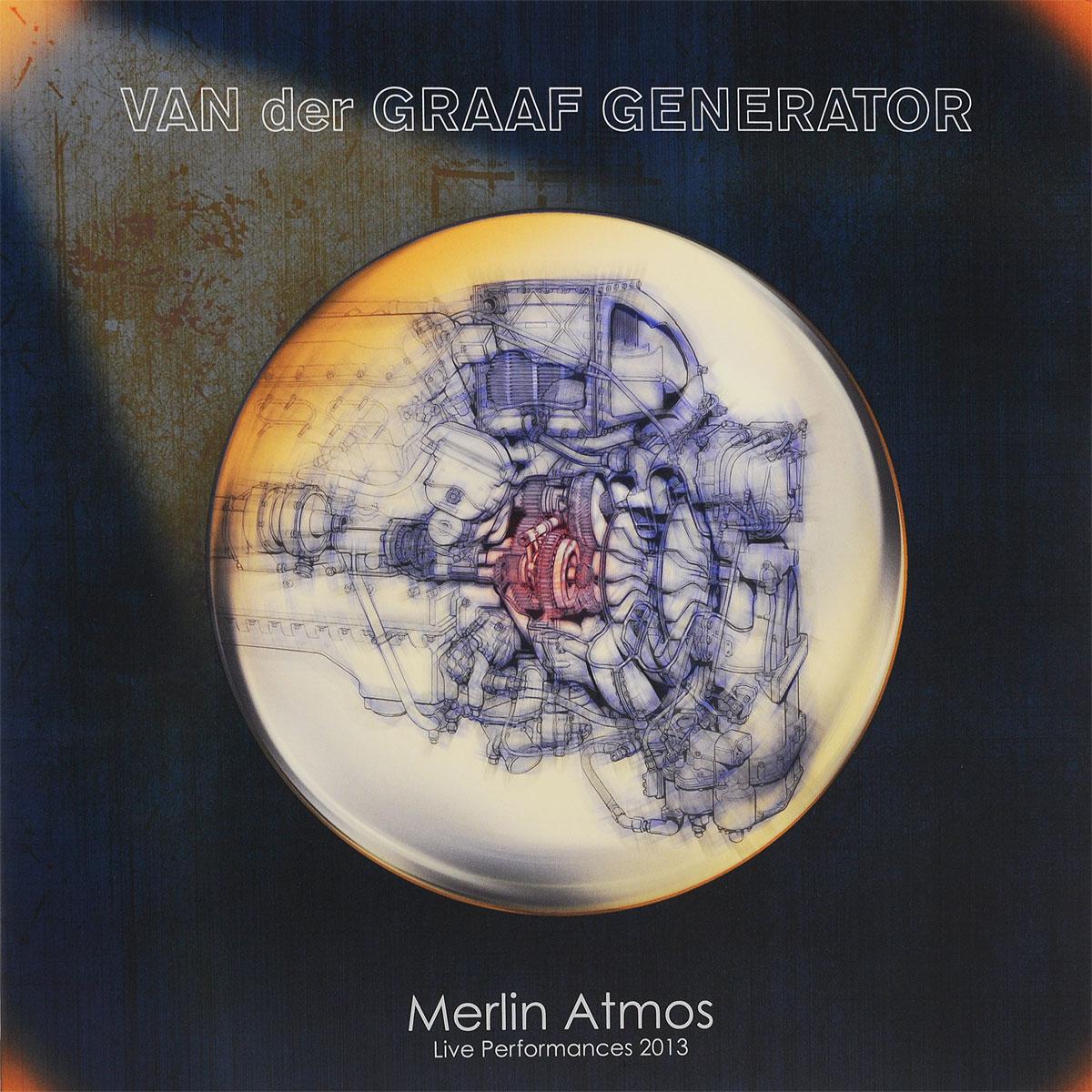 Van Der Graaf Generator Van Der Graaf Generator. Merlin Atmos. Live Performances 2013 (LP) ботинки der spur der spur de034amwiz42