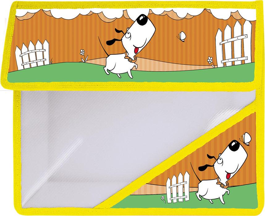Action! Папка для тетрадей Милашки цвет оранжевыйAFA5-11Папка для тетрадей Action! Милашки - это удобный и функциональный инструмент, который идеально подойдет для хранения различных бумаг формата А5, а также школьных тетрадей и письменных принадлежностей.Лицевая сторона папки оформлена изображением милой собачки.Папка изготовлена из прочного пластика и надежно закрывается на клапан с липучками. Папка состоит из одного отделения.Папка практична в использовании и надежно сохранит ваши бумаги и сбережет их от повреждений, пыли и влаги.