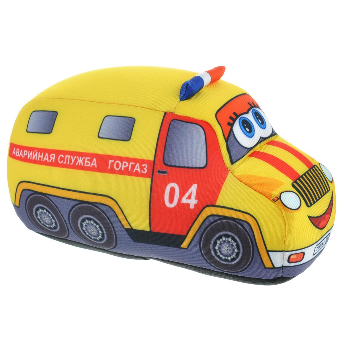 """Игрушка-антистресс СмолТойс """"Служебная машина. Горгаз"""", 20 см"""