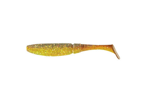 Приманка съедобная Риппер Allvega Power Swim, цвет: зеленый, золотой, 7,5 см, 4 г, 7 шт