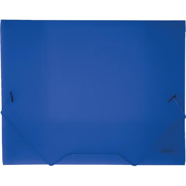 Proff Папка на резинке Next цвет синий SB20TW-04SB20TW-04Папка на резинке Proff Next - это удобный и функциональный офисный инструмент, предназначенный для хранения и транспортировки рабочих бумаг и документов формата А4.Папка изготовлена из износостойкого высококачественного полипропилена. Внутри папка имеет три клапана, что обеспечивает надежную фиксацию бумаг и документов.Папка - это незаменимый атрибут для студента, школьника, офисного работника. Такая папка надежно сохранит ваши документы и сбережет их от повреждений, пыли и влаги.