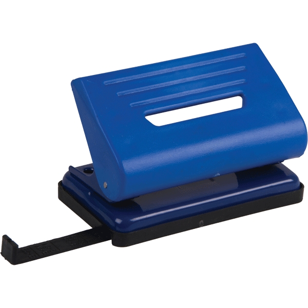 Дырокол малый Proff Punch, на 10 листов, цвет: синий. PF-8203-04PF-8203-04Удобный и практичный дырокол Proff Punch- незаменимый офисный инструмент. Практичный дырокол в пластиковом корпусе предназначен для одновременной перфорации до 10 листов бумаги, а стальной рабочий механизм обеспечивает долгий срок его эксплуатации. Удобство обеспечивает нескользящее основание и съемный резервуар для обрезков бумаги. Для выравнивания листов предусмотрена выдвижная линейка.