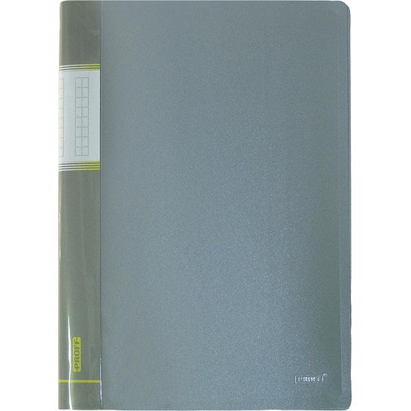 Папка Proff Next, на 20 файлов, цвет: серый. Формат А4 папка с резинкой пласт proff next а4 0 50 мм непрозр зеленая page 10