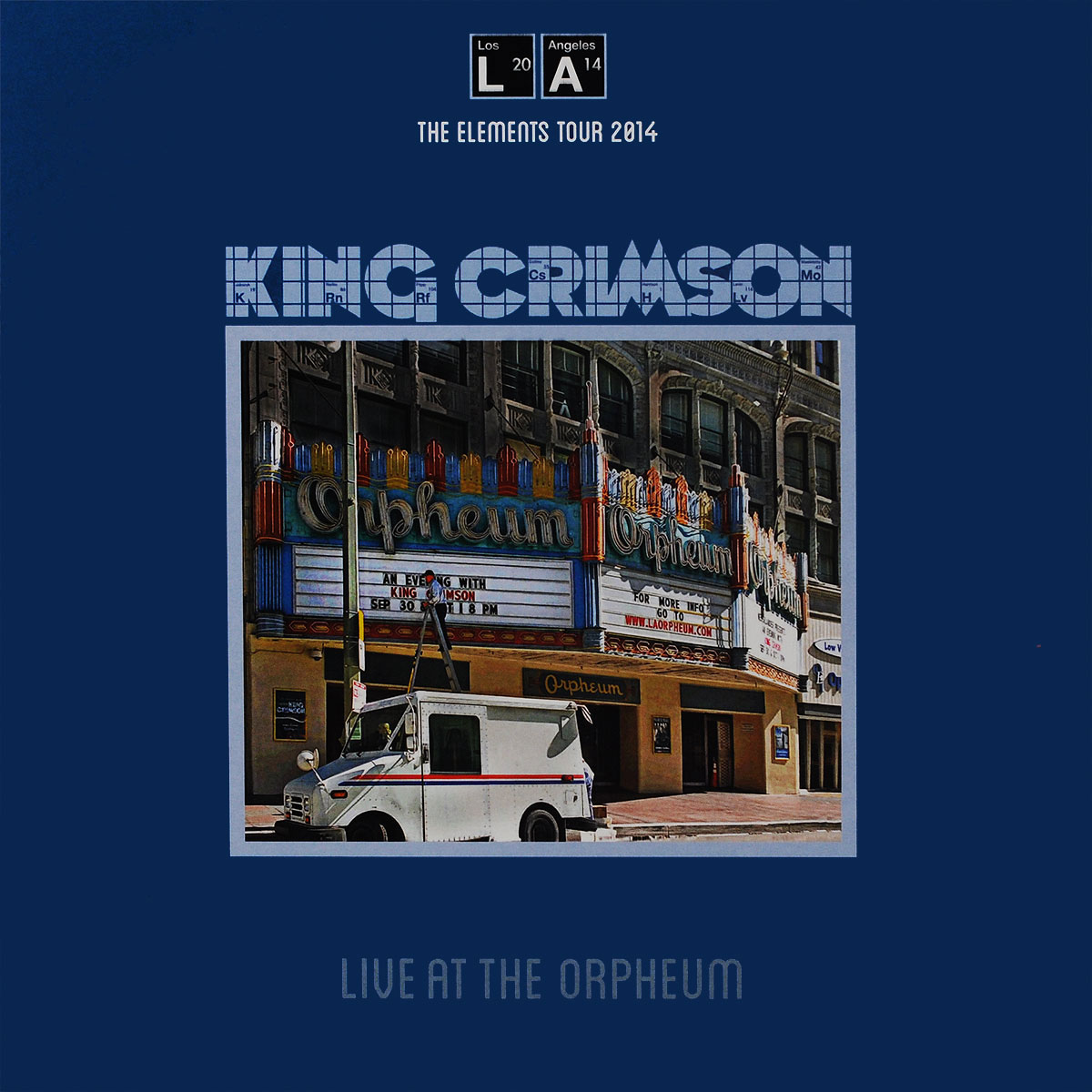 King Crimson King Crimson. Live At The Orpheum (LP) роберт глеспер robert glasper covered recorded live at capitol studios 2 lp