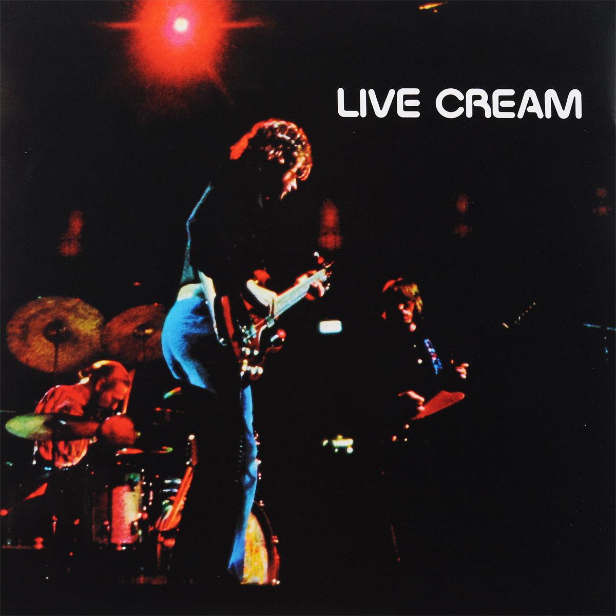 """""""Cream"""" Cream. Live Cream (LP)"""