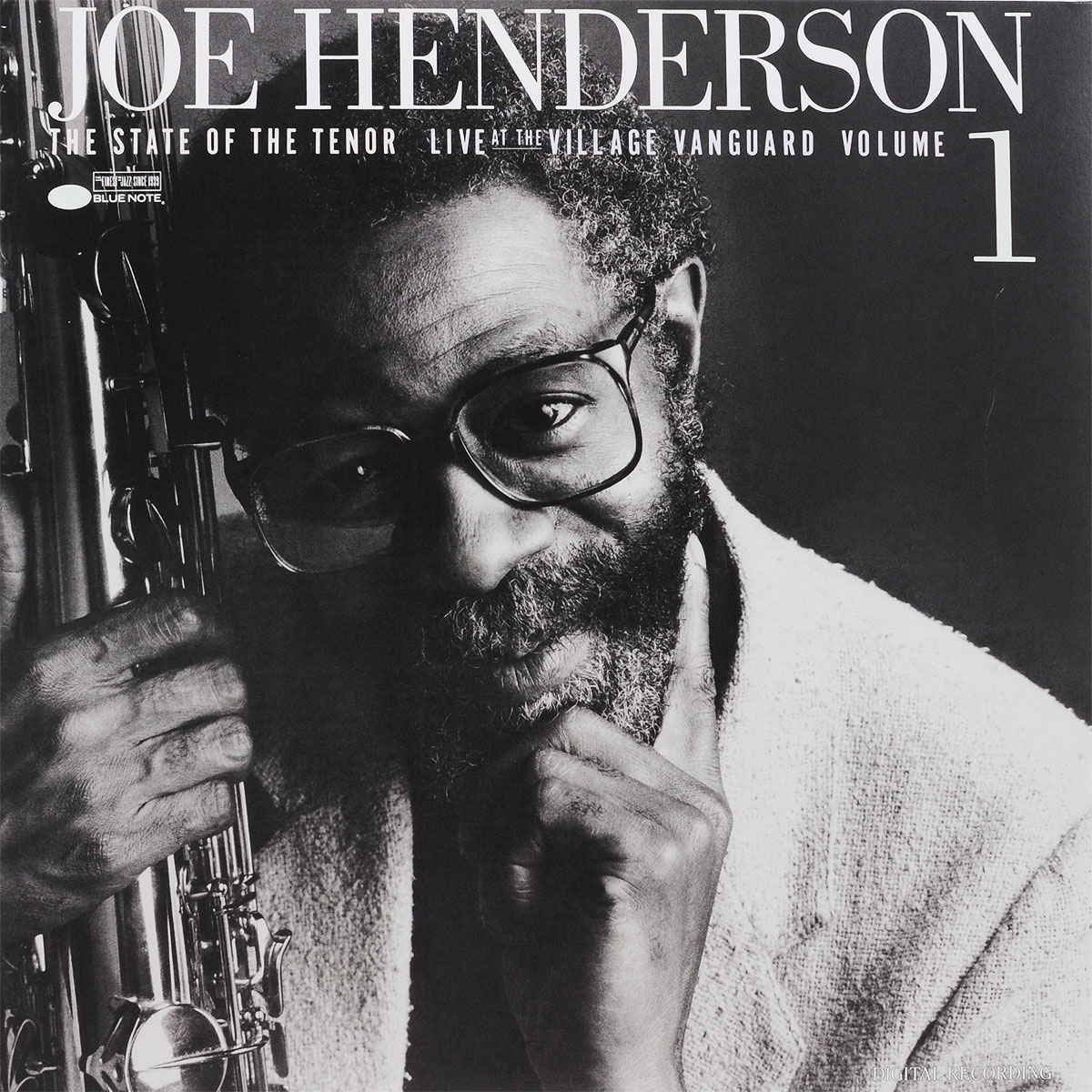 Джо Хендерсон Joe Henderson. The State Of The Tenor. Live At The Village Vanguard. Volume 1 (LP) цена