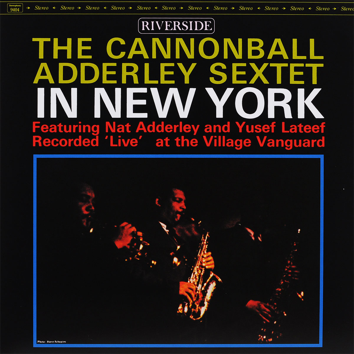 Кэннонболл Эдерли The Cannonball Adderley. In New York (LP) new 7 inch