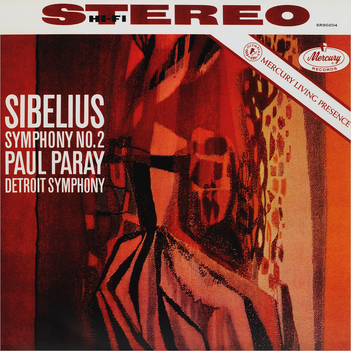 Паул Парей,Ян Сибелиус,Detroit Symphony Orchestra Paul Paray. Sibelius. Symphony No.2 (LP) тромбоун шорти trombone shorty parking lot symphony lp