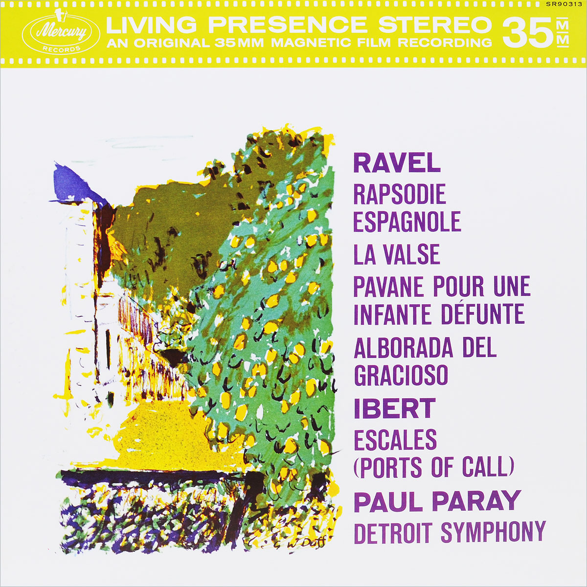 Paul Paray. Ravel, Ibert (LP)