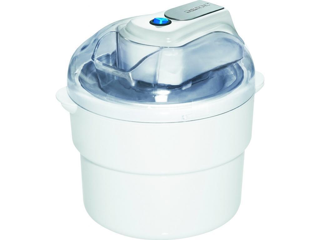 Clatronic ICM 3581, White мороженницаICM 3581 weisКомпания CLATRONIC (Германия) основана в 1982 году. CLATRONIC – это небольшая семейная компания. Основатель компании Эммануэль Классен лично разрабатывает модели новых товаров. В своем интервью господин Классен подтверждает, что товары выпускаемые для всех стран Европы не уступают по качеству товарам выпускаемых для Германии.Аппарат предназначен для приготовления мороженого, охлаждения йогурта и разных десертов и имеет производительность до 1 кг. Время приготовления занимает от 20 до 40 минут в зависимости от выбранного режима. Изделие имеет отверстие в крышке для добавления ингредиентов. Разборная конструкция для простоты очистки. У корпуса мороженицы двойные стенки для сохранения температуры и прорезиненные ножки для надежного положения.
