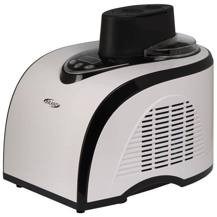 Brand 3811, White Black мороженица3811Полностью автоматическая компрессорная мороженица Brand 3811 сама приготовит вкусное и полезное мороженое меньше чем за 1 час в домашних условиях. Ингредиенты выбираете только вы - никаких растительных жиров, красителей и консервантов. Невероятное многообразие вариантов: все виды мороженого + вкуснейший сорбет + фруктовый лед. Мороженица имеет цифровое управление и интуитивный интерфейс, который характеризуется простотой управления и возможностью регулировки времени приготовления продукта, что открывает поистине безграничные возможности для приготовления десерта по собственным рецептам.ЖК-дисплей Хладагент: R134a Температура охлаждения: от -18°С до -35°С Уровень шума: до 50 дБ Время приготовления: до 1 часа Автоматическая функция дополнительного охлаждения до 1 часа Возможность увеличения времени приготовления во время работы Возможность добавления ингредиентов в процессе приготовления Съемная чаша из алюминиевого сплава