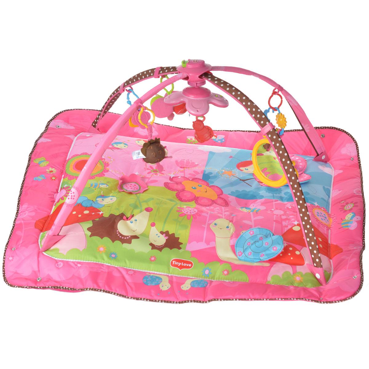 "Развивающий  коврик ""Моя принцесса"", 5 в 1, цвет: розовый, Tiny Love"