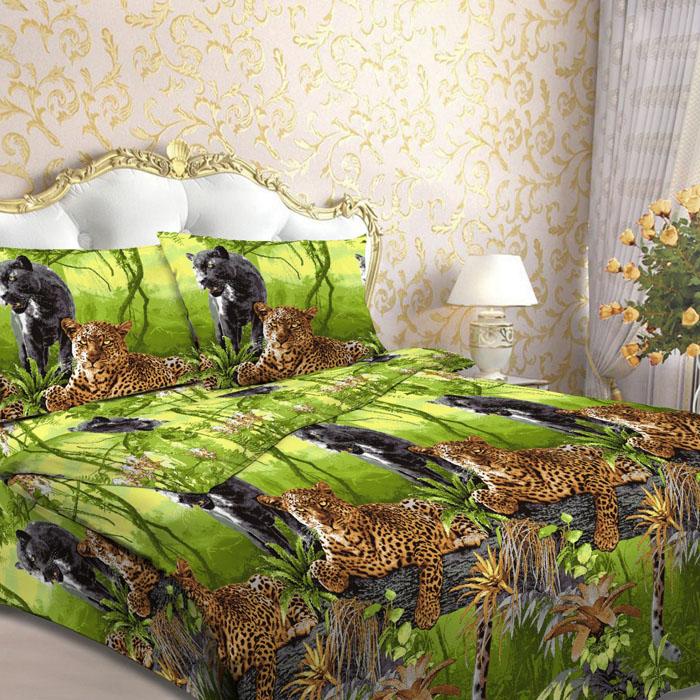 Комплект белья Letto, 2-спальный, наволочки 70х70, цвет: зеленый. B17-4B17-4Серия «Традиция» от Letto – это возможность купить оптом недорогое постельное белье, выполненной из классической российской бязи, знакомой многим домохозяйка. Не смотря на то, что на смену бязи пришли более комфортные ткани для постельного белья, такие как сатин и перкаль, бязь продолжает оставаться одним из самых востребованных продуктов на текстильном рынке России, благодаря своим потребительским свойствам и доступной цене. Для производства серии «Традиция» используется российская бязь, плотностью 125гр/м, с применением устойчивых импортных красителей и печати с новомодным эффектом 3D. Коллекция отшивается в традиционных размерах 1.5-cп, 2,0–сп. и евро размере с нав-ками 70*70.Советы по выбору постельного белья от блогера Ирины Соковых. Статья OZON Гид