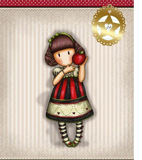 Gorjuss Набор тетрадей в линейку, 24 листа, формат А5, 10 шт, цвет: красный, серый125001