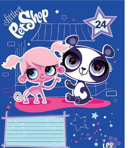 Littlest Pet Shop Набор тетрадей в линейку, 24 листа, формат А5, 10 шт124996