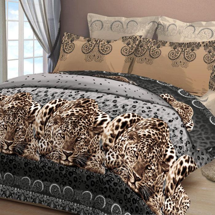 Комплект белья Letto, 2-спальный, наволочки 70х70, цвет: коричневый. B29-4 комплект белья letto 2 спальное наволочки 70х70 цвет сиреневый в39 4