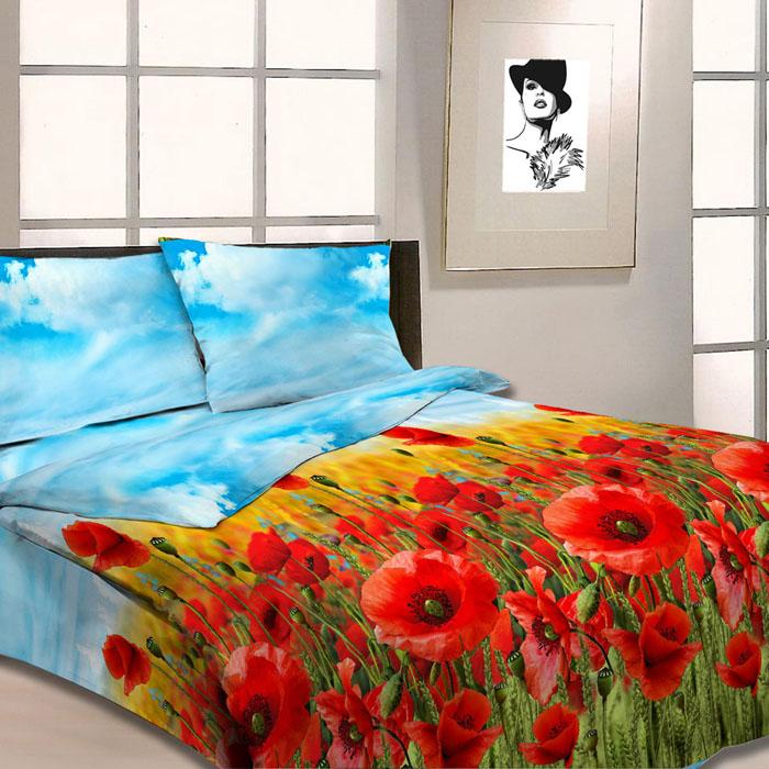 Комплект белья Letto, 2-спальный, наволочки 70х70, цвет: красный. B23-4 комплект белья letto 2 спальный наволочки 70х70 цвет коричневый b21 4