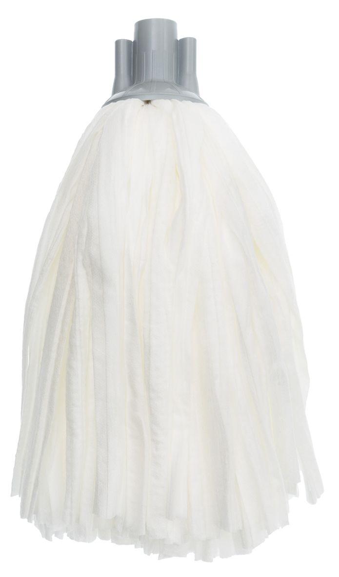 Насадка сменная Apex Girello Basic для швабры10540-AСменная насадка Apex Girello Basic для швабры станет незаменимым атрибутом любой уборки. Она выполнена из 65% вискозы и 35% полиэстера. Идеально подходит для любого типа поверхностей и может использоваться с любыми моющими средствами, в том числе отбеливателем.Насадку можно стирать при температуре 40°С.Длина волокон: 27 см.