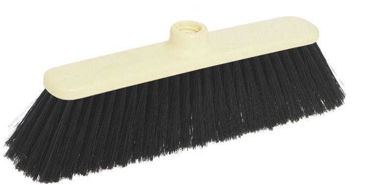 Щетка-насадка для пола Apex Basic. 11691-A11691-AЩетка Apex Basic с длинным ворсом, выполненная из пластика, предназначена для уборки в доме и на улице.Упругие и длинные волоски щетки-насадки не оставят от грязи и следа. Изогнутые под углом щетинки облегчат чистку углов помещения. Оригинальная, современная, щетка для швабры, которую можно подобрать к любому интерьеру, сделает уборку эффективнее и приятнее не вызывая усталости. Размер щетки: 27 см х 4,5 см.Длина ворса: 7,5 см.Материал: пластик, полихлорвинил.