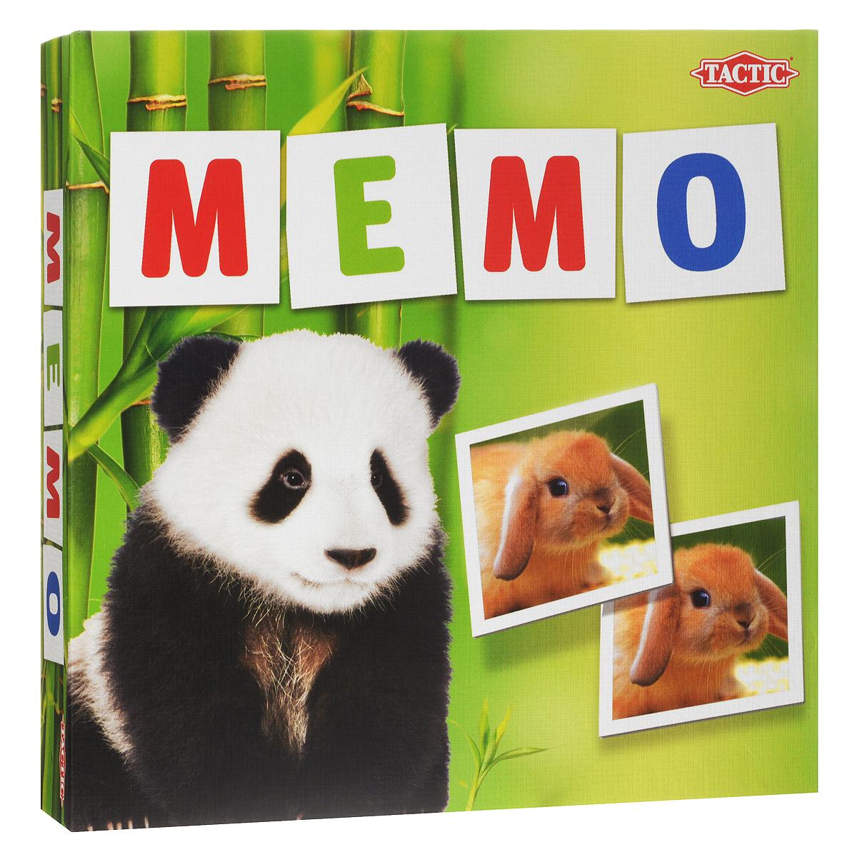 Tactic Games Мемо Зверята tactic games настольная игра нарисуй и угадай вечеринка tactic games