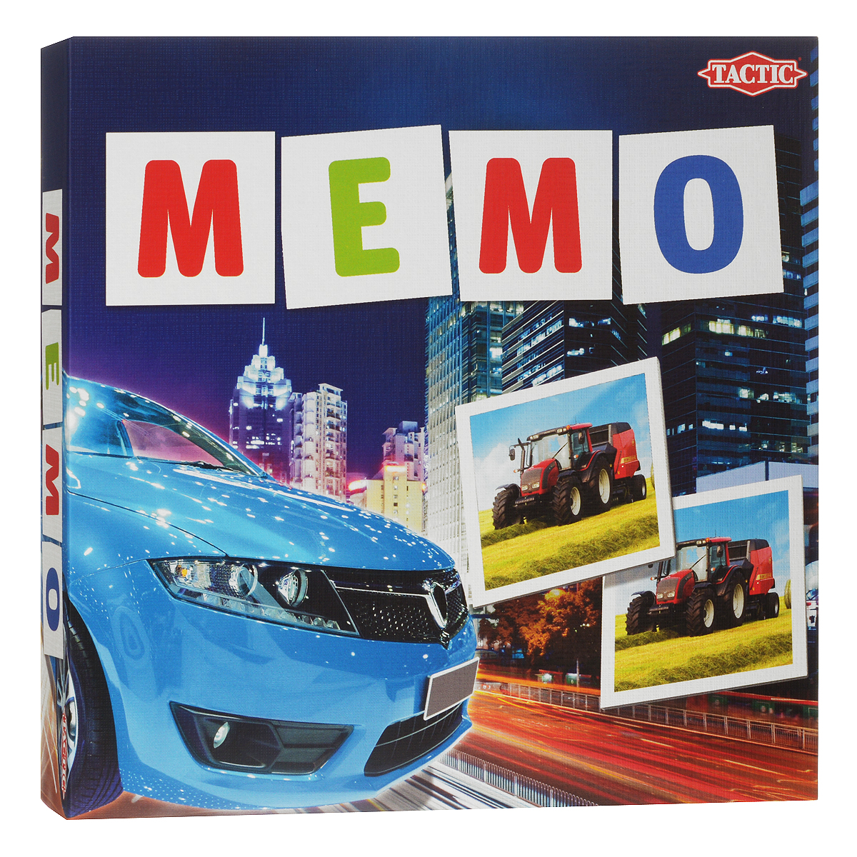 Tactic Games Мемо Транспорт настольные игры tactic games настольная игра учим время