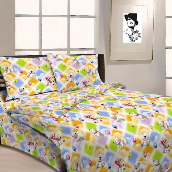 Детское постельное белье Letto Веселые мишки (ясельный спальный КПБ, хлопок, наволочка 40х60)BG-08Детское постельное белье Letto Веселые мишки прекрасно подойдет для вашего малыша. Текстиль произведен из 100% хлопка. При нанесении рисунка используются безопасные натуральные красители, не вызывающие аллергии. Гладкая структура делает ткань приятной на ощупь, она прочная и хорошо сохраняет форму, мало мнется и устойчива к частым стиркам. Комплект состоит из наволочки, простыни и пододеяльника. Яркий рисунок непременно понравится вашему ребенку.