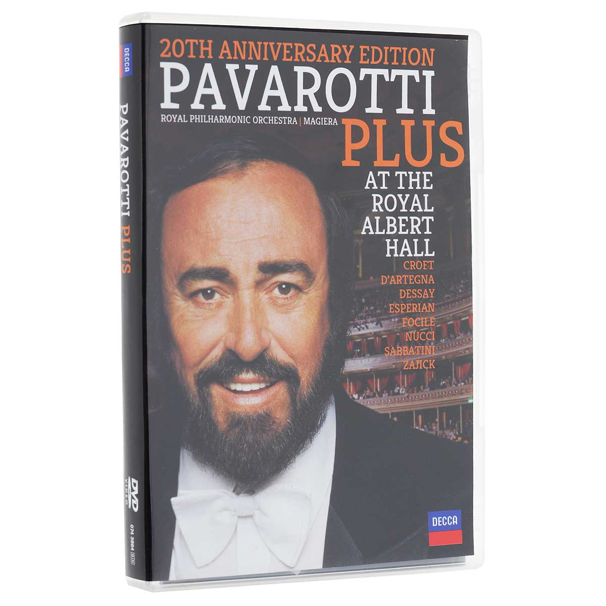 Luciano Pavarotti: Plus. 20th Anniversary Edition puccini la boheme