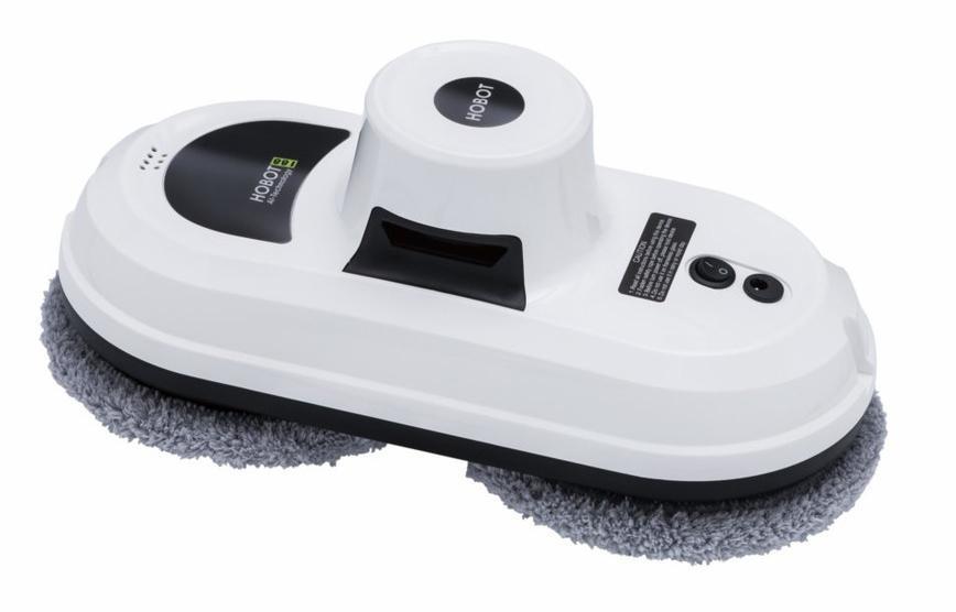 Hobot 188, White робот для чистки стеколHOBOT-188Вакуумный насосМощный вакуумный насос удерживает робота практически на любой вертикальной или горизонтальной поверхности. Всасывает пыль и удаляет частички грязи, а два чистящих колеса, покрытые салфетками из микрофибры, перемещают робота по поверхности и совершают вращательные чистящие движенияСалфетки из микрофибрыВысокое качество очистки и отсутствие царапин на поверхностях благодаря салфеткам из микрофибры. Вся пыль и грязь всасывается через салфетки с помощью вакуума. Салфетки имеют миллионы мягких и длинных микроволокон, которые в процессе уборки, трутся друг о друга, вырабатывая статический заряд, который помогает затягивать частицы пыли, удерживая их до момента стирки, тогда под действием воды заряд прекращается и грязь легко вымывается. Микрофибра - не оставляет после себя волокон, не линяет, не скатывается, впитывает гораздо больше воды и грязи, чем обычная ткань, легко отстирывается, быстро высыхает после стирки и служит долгоПульт дистанционного управленияПульт имеет кнопки для запуска 3 видов автоматического режима, а так же кнопки ручного управления для очистки поверхностиЭкологически безопасные и экономичные чистящие салфеткиСалфетки HOBOT-188 выполнены из микро-фибры, легко меняются для ручной или машинной стирки и многократно повторно используютсяУникальный способ перемещенияНет резиновых колес или гусениц, которые могут оставлять следы, и которые нужно дополнительно чистить. HOBOT-188 использует уникальную систему передвижения по поверхности с помощью вращающихся чистящих колес, вместо традиционных гусениц или резиновых колес. Может свободно и плавно двигаться по поверхностям и стеклу не оставляя следов, даже если чистящие салфетки загрязнены. Робот не требует дополнительного обслуживания и чистки, кроме смены многоразовые чистящих салфеток, которые легко меняются и отстирываютсяУниверсальный робот для различных типов поверхностиHOBOT 188 - это многофункциональный робот мойщик. Кроме очистки обычных 